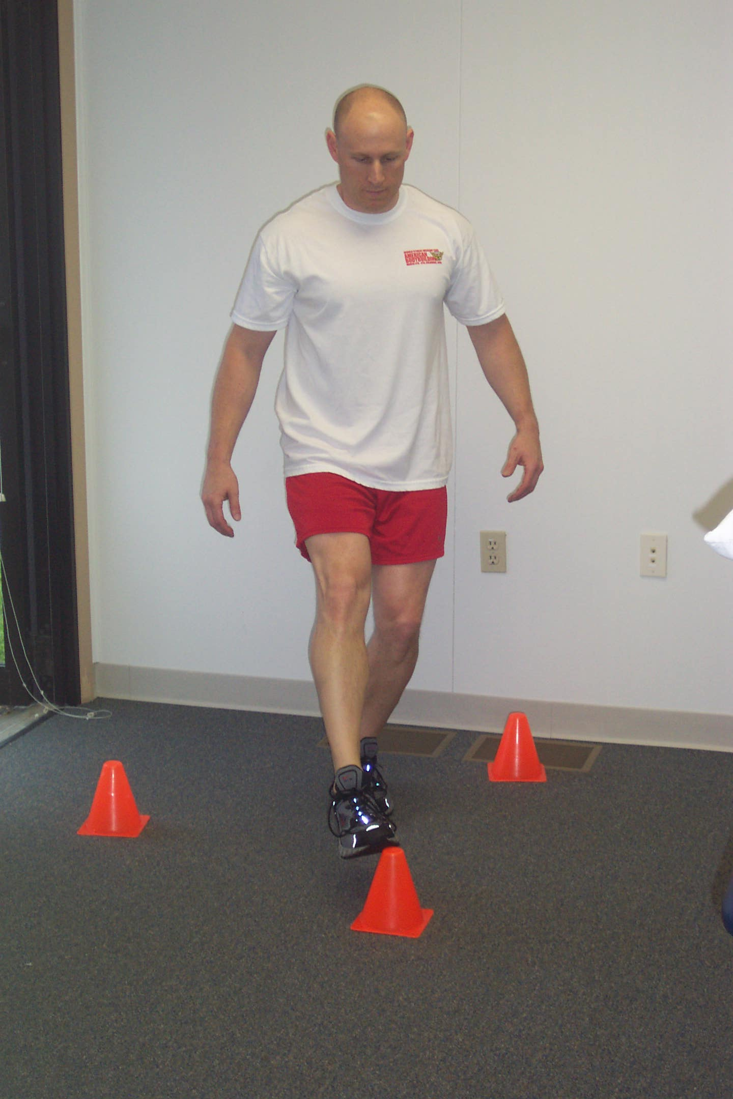 Balance exercise physical therapy - Le Balance And Reach Exercise